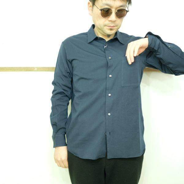 LA MOND スーピマコットンのシャツ