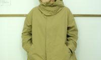 春の匂いに。Le Melangeのウェザークロスのフードジャケット。