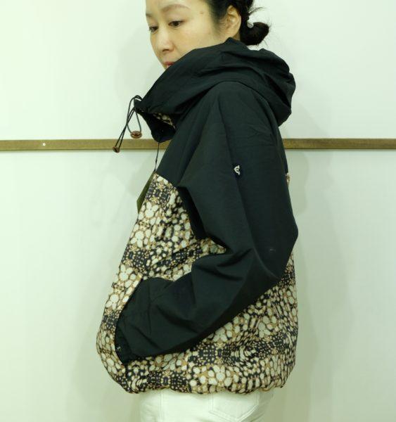 ブランバスク N/Cグログランのプリントジャケット