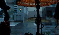 今年の3.11は、雨降り。
