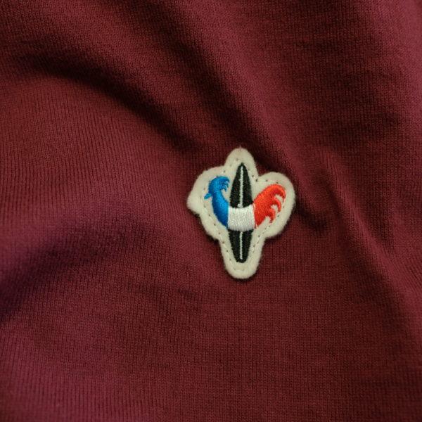 ARVOR MAREE アルボマレー ライトジャージのスタンドポロシャツ