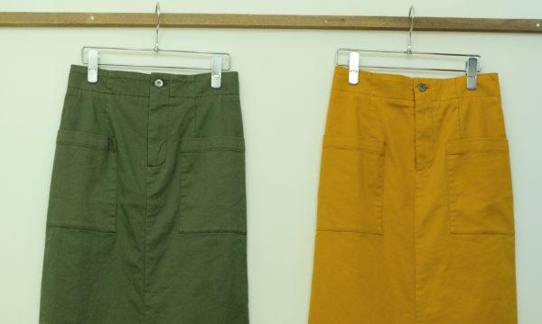 エスペラック ツイルストレッチのスカート