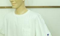 チャンピオンの半袖Tシャツで、いよいよ新学期へ。