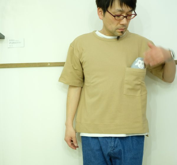 spinner bait ビックポケットTシャツ