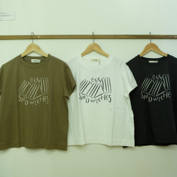 tumugu ハイゲージ天竺のプリントTシャツ