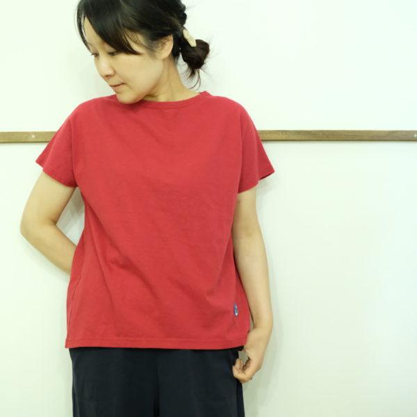 快晴堂 度詰め天竺のフレンチTシャツ