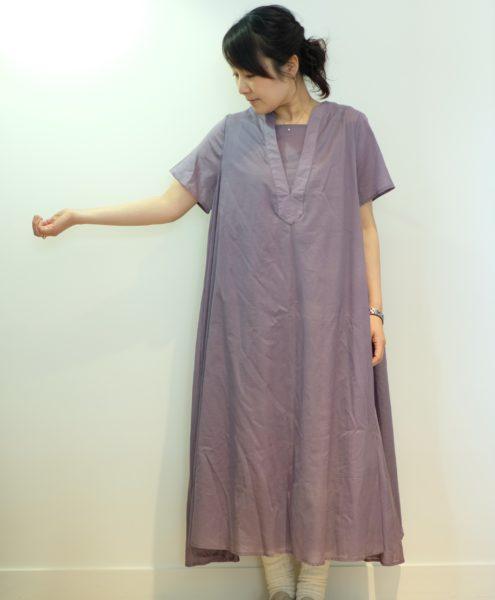 kelen レイヤードロングドレス