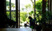 夏のTRAVAIL MANUEL。HASAMIのコーヒータイムも楽しい。