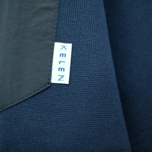 KELEN ミニサーマルのジップポケットTシャツ