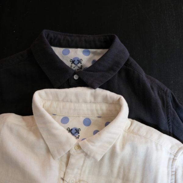 快晴堂 トリプルガーゼのシャツ