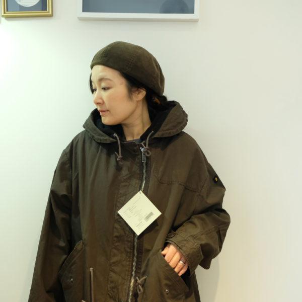 ブランバスク ウェザークロスとフリースのコート
