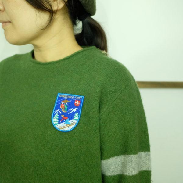 快晴堂 レトロスキーセーター