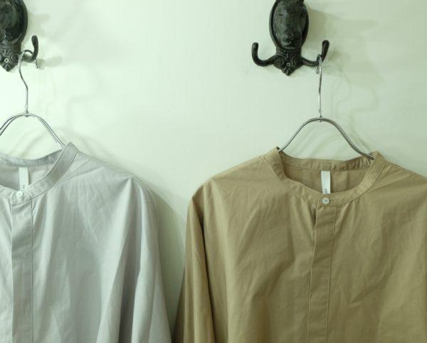 kelen ワイドデザインのシャツドレス