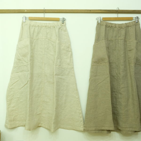 tumugu 麻のツーウェイスカート