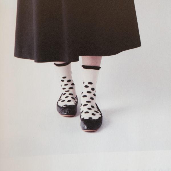 フレンチブルの靴下