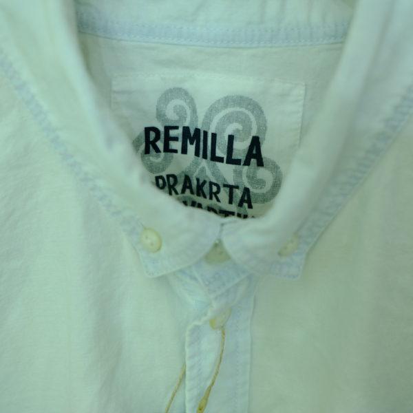 remilla シャンブレーデクトシャツ
