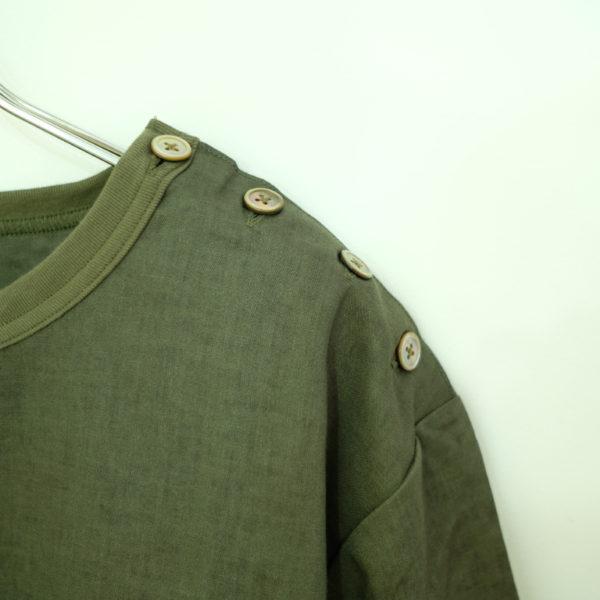 Remadeintokyojapan. > リネンキャンバスのバスクシャツ