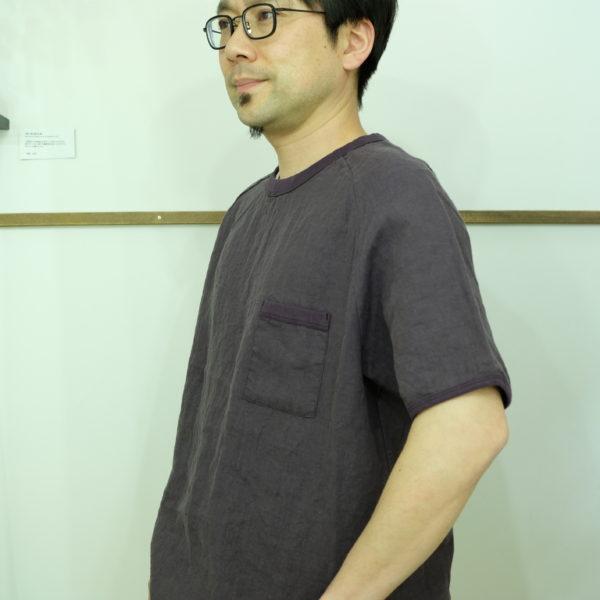 Remadeintokyojapan. フレンチリネンのTシャツ