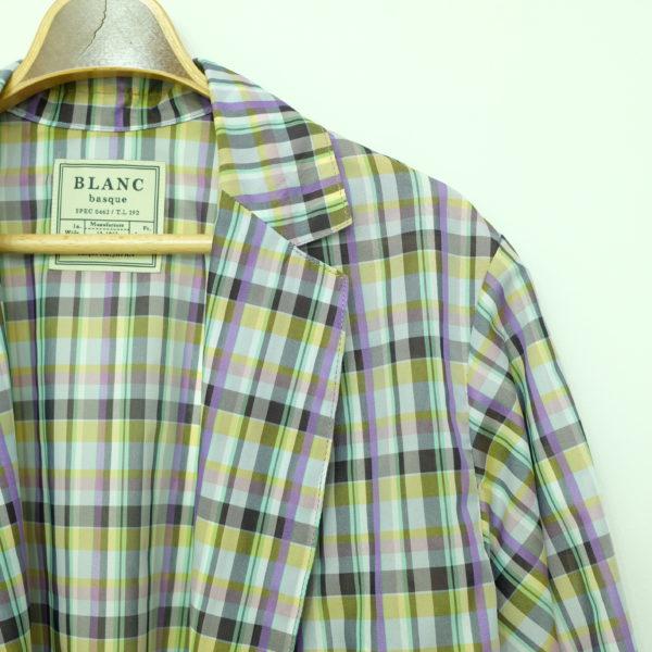 ブランバスク ルーセントオーガンジーのコート