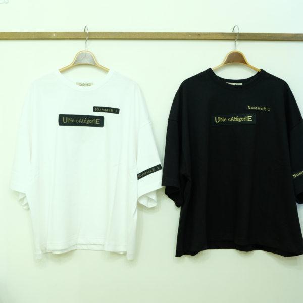 ブランバスク 金色ワッペンTシャツ