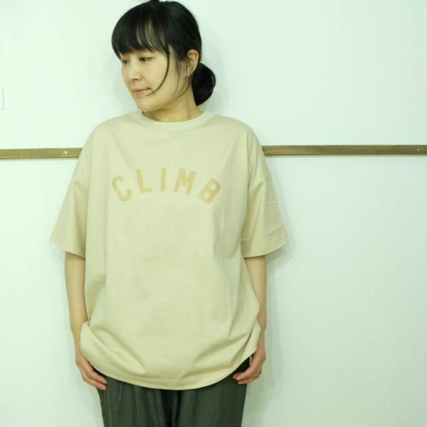 travail manuel 天竺のTシャツ-CLIMB