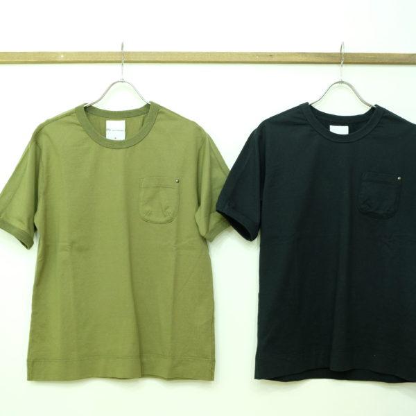 Remadeintokyojapan. スプリットラグランポケットTシャツ