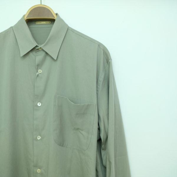 LA MOND コットンのシャツジャケット