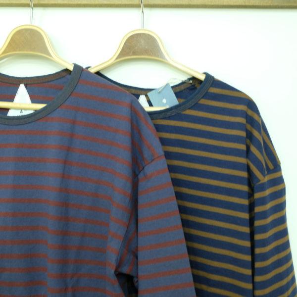 remilla ボーダー9分Tシャツ