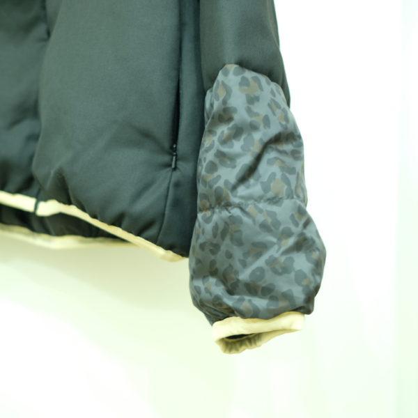 ブランバスク レオパード柄のダウンジャケット