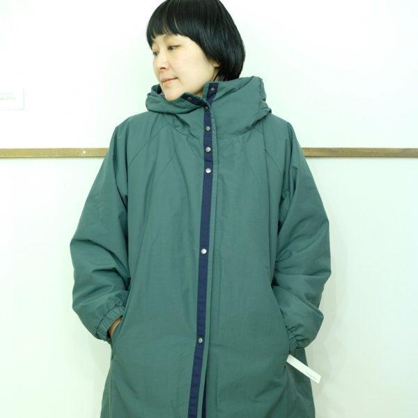 ayane 中綿フーテッドコート