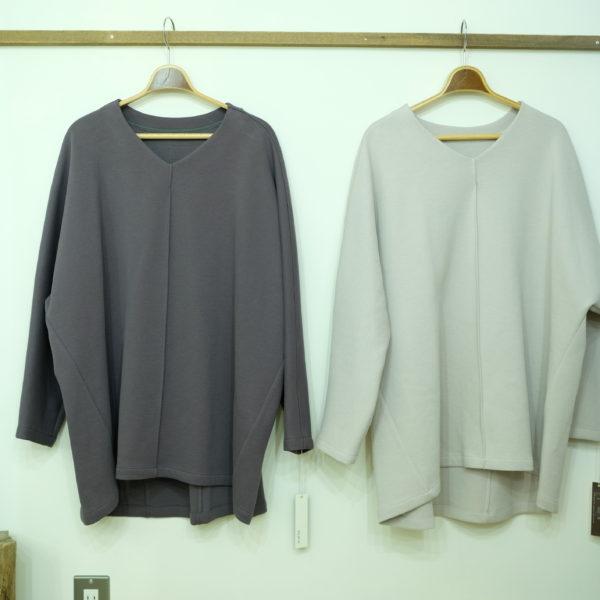 ayane  カノコボンディングのドルマンTシャツ