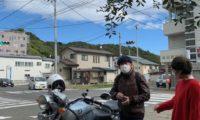 バイクを降りたら。COLDBREAKERで美味しいお店へ。