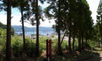 熊野神社の境内で、いろいろ話す。