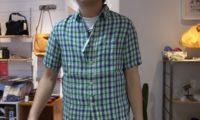 七夕の風景より~シャツのモデルが来ますように!
