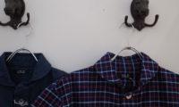 すわっ!キャッツアイか!?ロロの半袖比翼シャツの巻。