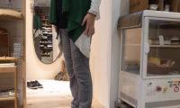 スタジオオリベの冬素材リブパンツで、日韓の冷え切った関係の修復へ!