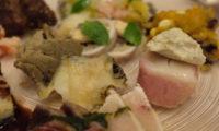 宮古でのひと皿。リストランテKATUYAMAの魚系前菜盛合せ。