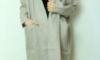 トラバイユマニュアルのリネンキャンバスコートと、さよなら宮古市、TRAVAIL MANUEL。